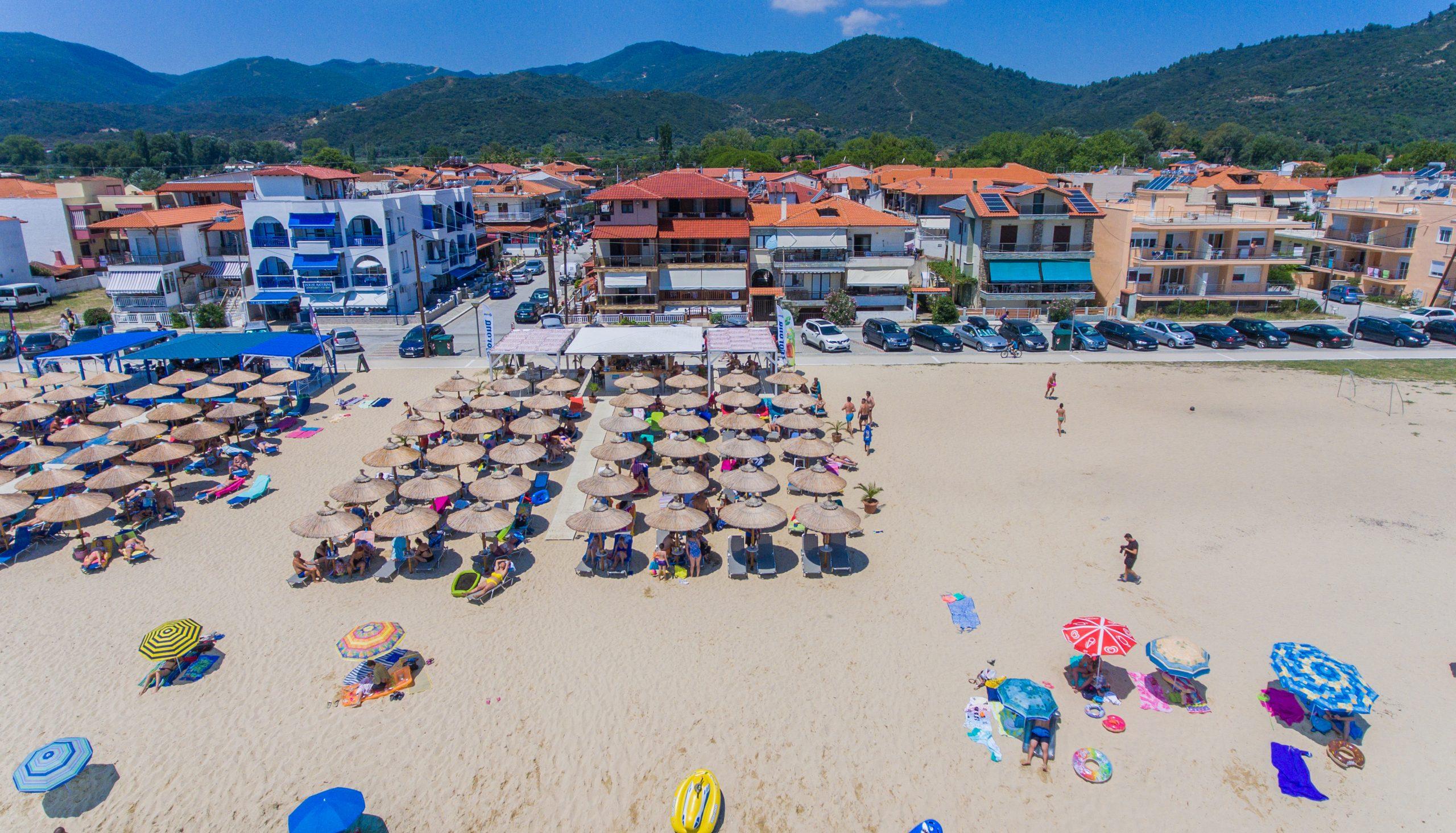 House Kostas - beach